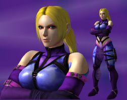 Nina Williams SFXT Xnalara by dirtscan