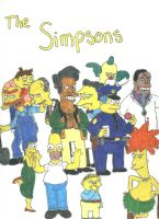 The simpsons by LadyZelda