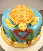 Turtle cake 1 by bahgee