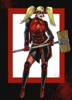 haute couture harley quinn Q1 by FTacito