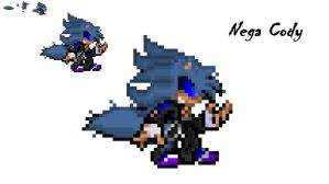 Nega Cody Sprite (JPEG) by FrostBurned-Soul