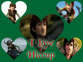 A Colage of my dear Hiccup by Rini-Tsukino900