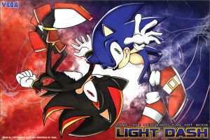 sonic and shadow by defiaz