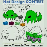 Cthulu hat contest entry by 7770