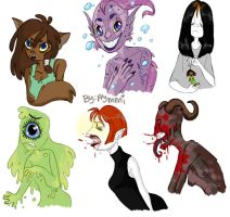 Girl Monsters by Aymeysa