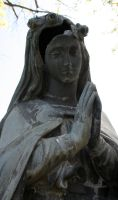 Mount Olivet Cemetery Mary 182 by Falln-Stock