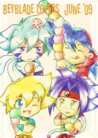 Beyblade Lovers June by I-Am-Bleu