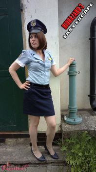 Jill Valentine RE3 Police Officer cosplay XIII by Rejiclad