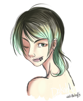 :Contest Entry: Wink by oddlittleleaf