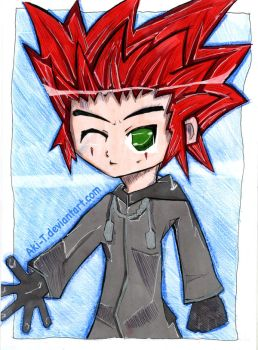 Young Axel by aki-T