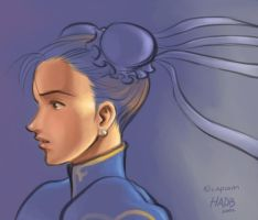 Chun Li rough by gndagnor