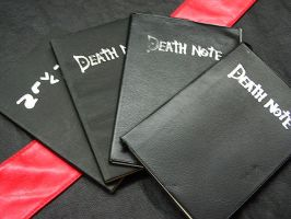 Death Note x4 by SakuraTenshi94