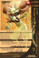 The PYF Trading Card by PlainYellowFox
