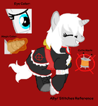 REFERENCE: Stitches (Ally) by InvaderIka