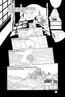 'Kids' Cystinosis Comic (black/white), Page 1 by kevinlionheart