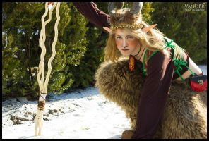 Mink: On the Snowy Trail by Mink-the-Satyr