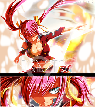 Sherria/Chelia Third origin Fairy Tail 476 by nina2119