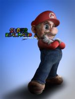 Super Real Mario by rabidoverlord