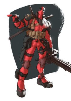 Tank Deadpool by Ramonn90