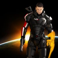 Commander Shepard by HerpDerp187