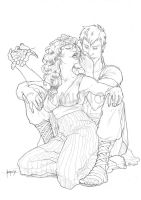 Comm_Myron And Agape by Herio13