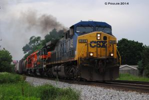 CSX-IHB Chicago Ridge 0027 6-26-14 by eyepilot13