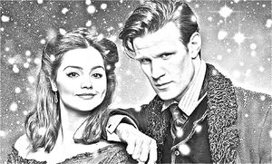 Doctor and Clara by BlueSwan-BS