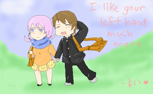 I like ur left hand much more by Akakagachi