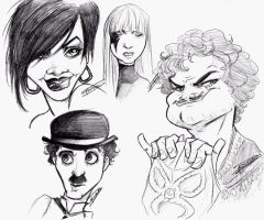 Fame Faces by oasiswinds