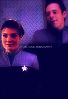 Kaeda and Julian Star Trek DS9 by DaniNinjaWarrior