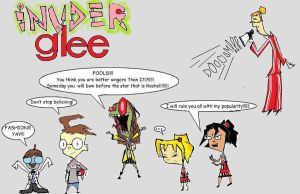 Invader glee by InvadeRose