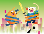 Adventure Time by ZipperZoned
