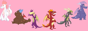 The Teen Dragon Six by No1MporXant