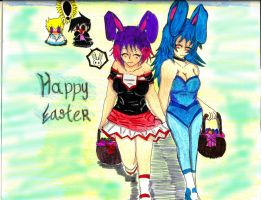 happy easter by sephiroth72603