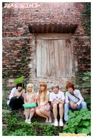 Honey and Clover - Group 01 by soulCerulean
