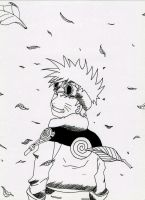 Naruto Uzumaki from Naruto Unleashed (manga) by Acey-kakarot-michael