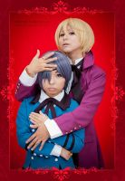 Alois and Ciel::::::: by Witchiko