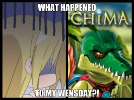 What Happened To My Wensday?! by ChibiCinnamonRoll