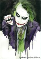 Joker Watercolour by Jess-needs-username