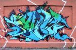 ADK LETTERS WALL - Solo piece by SANS-01-2-MHC-BS