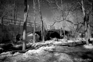 Route 31 Abandoned Bridge by rjcarroll
