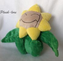 Sunflora plush by Plush-Lore