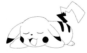 Black and White Pickachu by RebeccaProductions