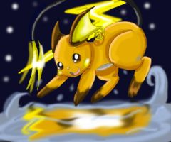 Raichu Fail by KamiraCeeker