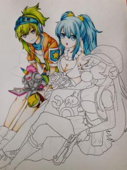 League Of Legends Arcade Skins(W.I.P) by LutviTheSquirrel