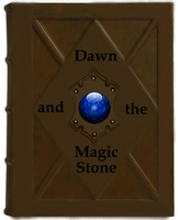 Dawn and the Magic Stone cover by Cookiecat123456