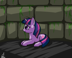 Some Pony In Some Dungeon by prdarkfox