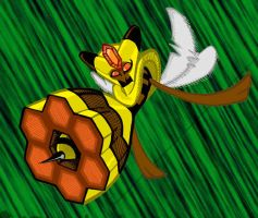 Beequeen is bee by Kaon-Lowe