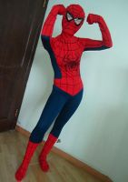 I'm the spide girl by mysexyzentai