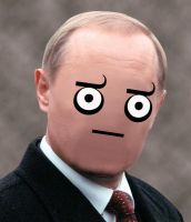 Putin -deathstare- by magicswordz